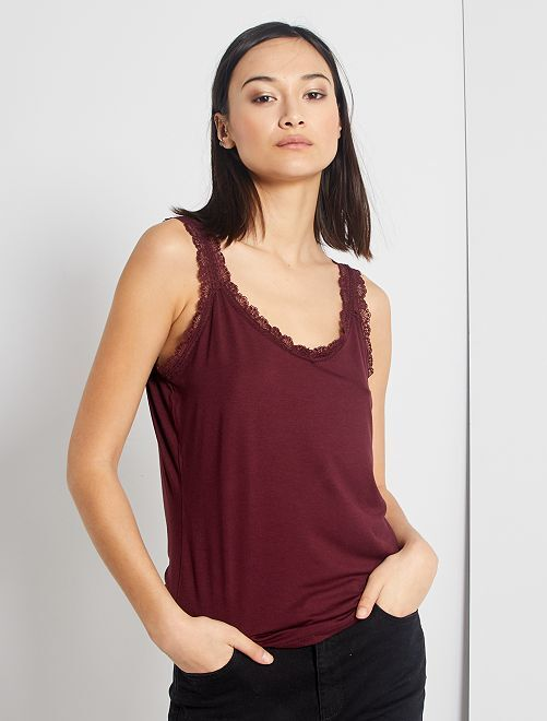 Top pizzo                                                                                                                                                                                         rosso