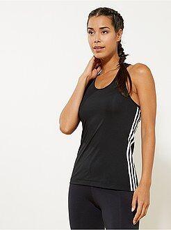 T-shirt, magliette - Top sport 'ClimaLite' 'Adidas' - Kiabi