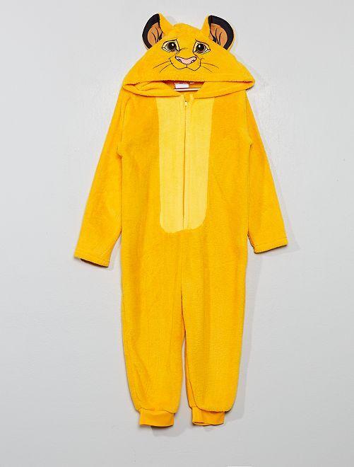 Tuta pigiama 'Il Re Leone'                             giallo