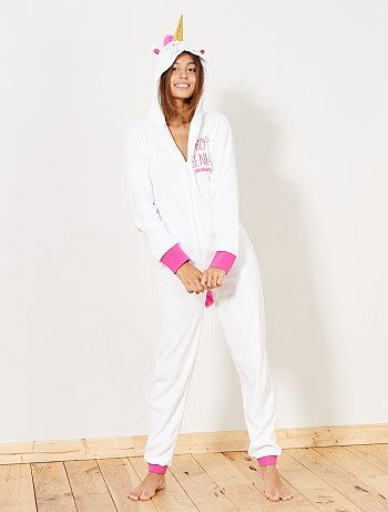Tuta pigiama unicorno - Kiabi