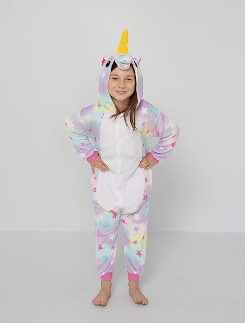 Tuta pigiama 'unicorno'                             multicolore