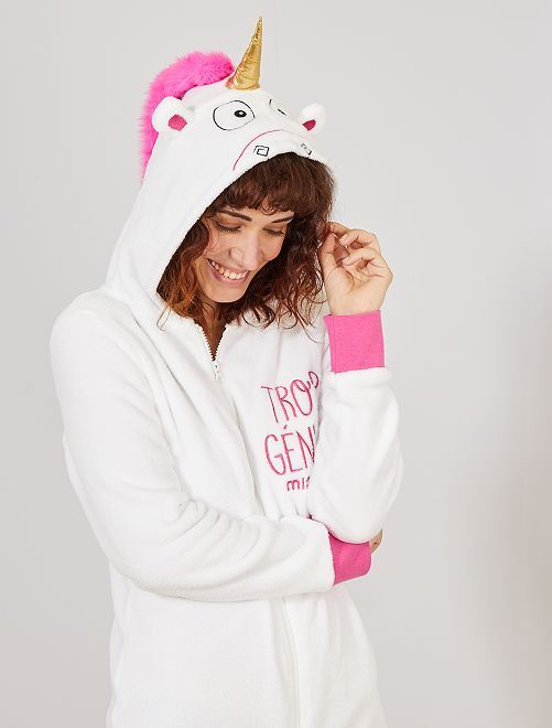 Tuta unicorno 'I Minions'                             BIANCO