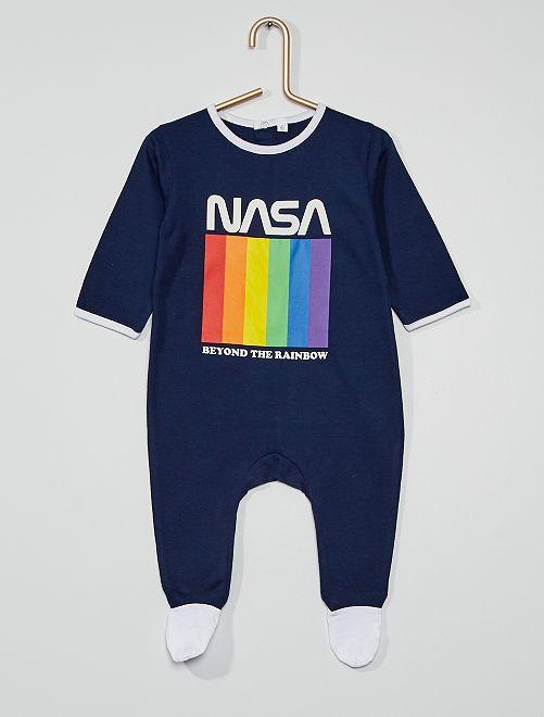 Tutina lunga 'Nasa' in jersey                             BLU