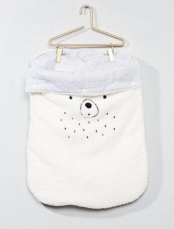 Bambino 0-36 mesi - Tutina termica peluche - Kiabi