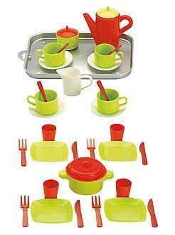Peluche - Vassoio accessori cucina 20 pezzi