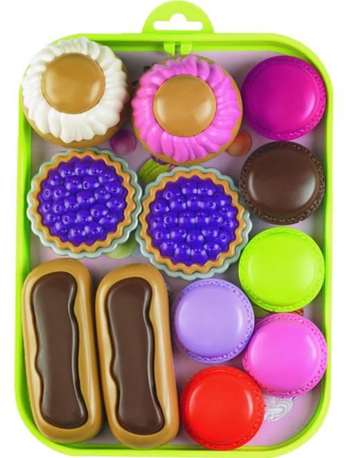 Vassoio di pasticcini                             multicolore