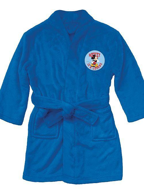 Vestaglia maglia pile 'Topolino'                             BLU