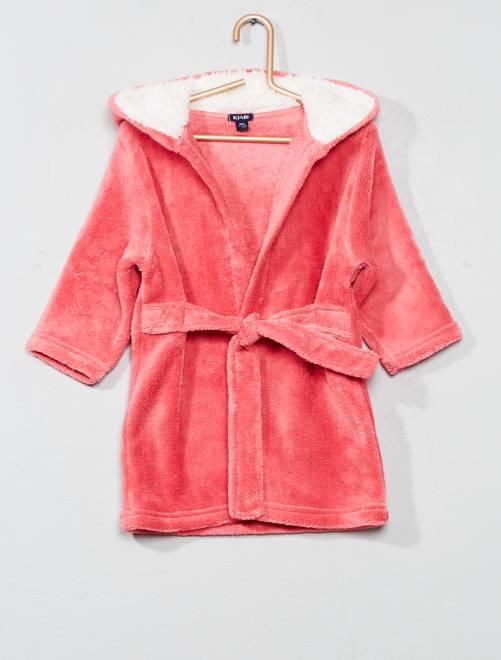 Vestaglia pile                                         rosa Neonata