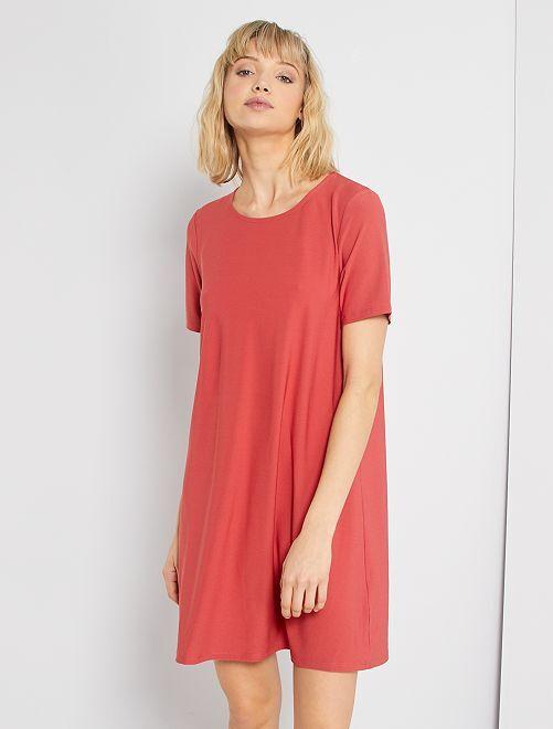 Vestito corto                                                                 rosso granata