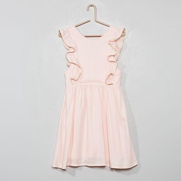 Vestiti Cerimonia Rosa.Vestito Da Cerimonia Infanzia Bambina Rosa Kiabi 17 00