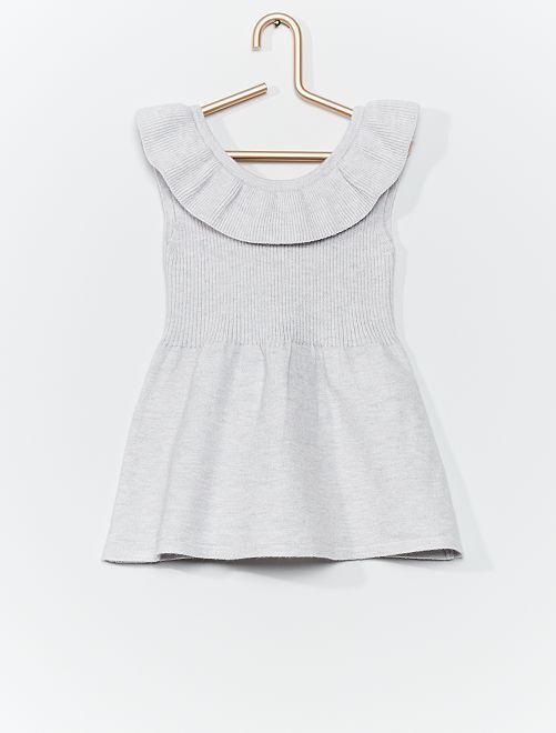 Vestito in maglia 'eco-friendly'                                         GRIGIO