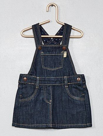 Vestito salopette denim - Kiabi
