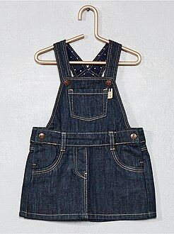 Vestiti, gonne - Vestito salopette denim - Kiabi