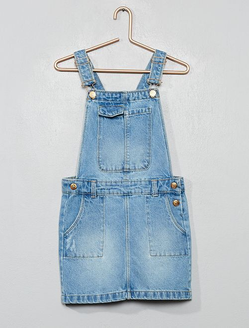 Vestito salopette jeans                                         BLU
