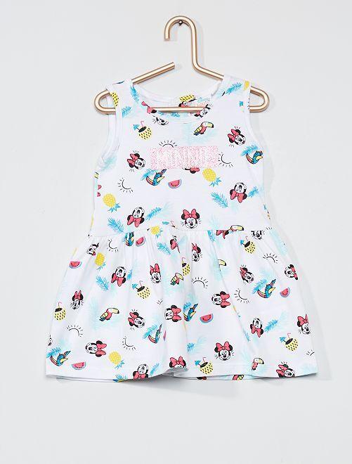 Vestito skater 'Minnie' 'Disney'                                         bianco