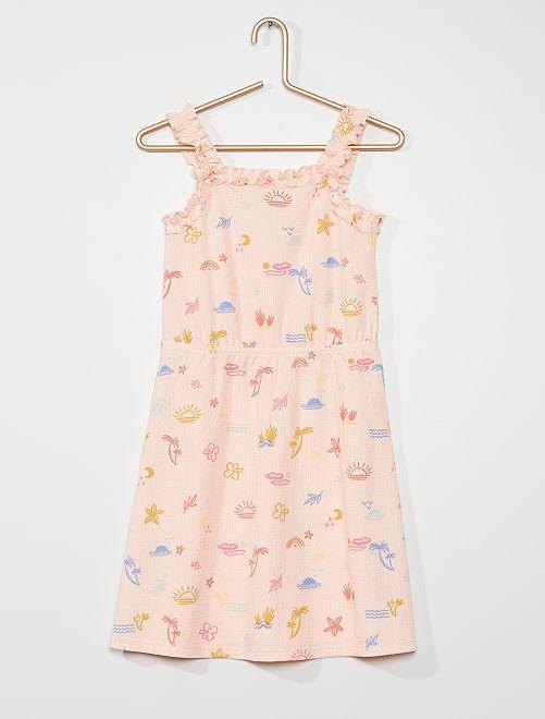 Vestito stampato                                                                 ROSA