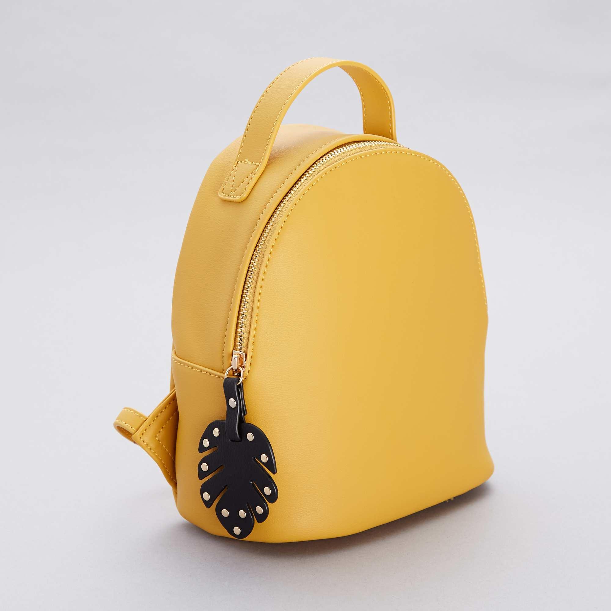 307933c636 Zaino piccolo Donna - GIALLO - Kiabi - 12,00€