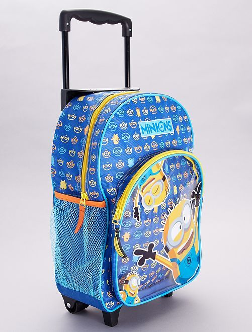 Zaino trolley 'Minions'                             blu/giallo