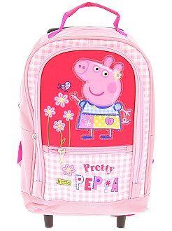 Zaini, grembiuli per la scuola - Zaino trolley 'Peppa Pig' - Kiabi