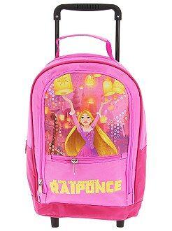 Zaini, grembiuli per la scuola - Zaino trolley 'Rapunzel' - Kiabi