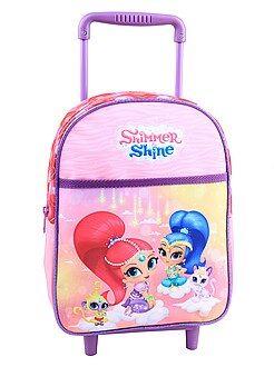 Zaini, grembiuli per la scuola - Zaino trolley 'Shimmer and shine' - Kiabi